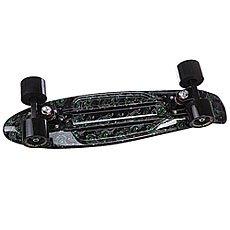 Скейт мини круизер Turbo-FB Pavlin Black/Black 22 (55.9 см)