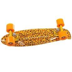 Скейт мини круизер Turbo-FB Leo Yellow/Orange 22 (55.9 см)