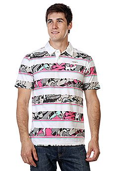 Поло Zoo York Enew15 Polo Sharpie Style White