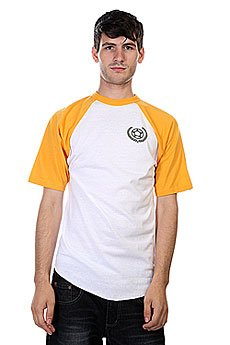 Футболка Proto Scooters Baller Short Sleeve Yellow On White