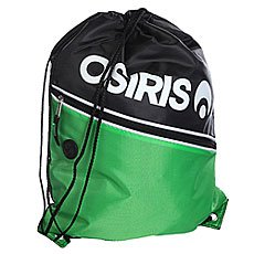 Мешок Osiris Drawstring Gym Bag Black/Green