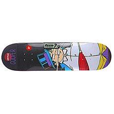 Дека для скейтборда Almost Cooper Villain Penguin Multicolor 31.7 x 8 (20.3 см)