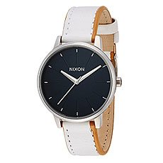 Часы женские Nixon Kensington Leather Navy/White