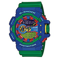 Часы Casio G-Shock Ga-400-2a Green/Blue