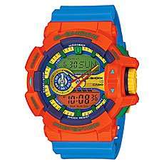 Часы Casio G-Shock Ga-400-4a Orange/Blue