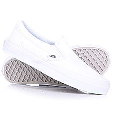 Слипоны Vans Classic Slip On True White