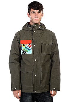 Куртка Quiksilver Ac Elion Jacket Forest Night