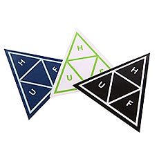 Наклейки Huf Triple Triangle Sticker Pack Assorted