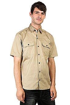 Рубашка Huf Protrero Workshirt Khaki