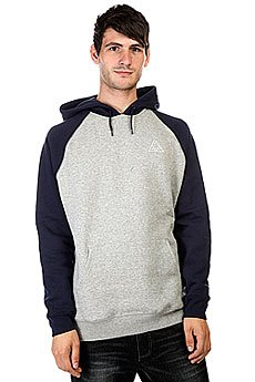 Кенгуру Huf Triple Triangle Raglan Pullover Hoodie Navy/Gray Heather