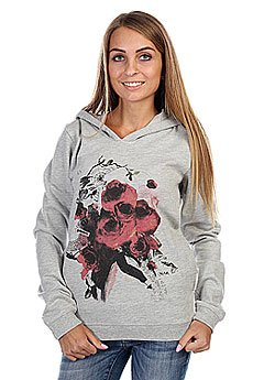 Толстовка женская Insight Love Bites Hoodie Grey Marle