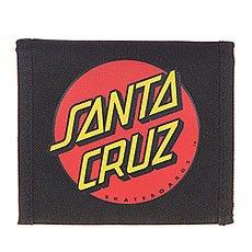 Кошелек Santa Cruz Classic Dot Black