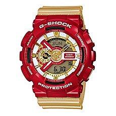Часы Casio G-Shock Ga-110cs-4a Red/Gold