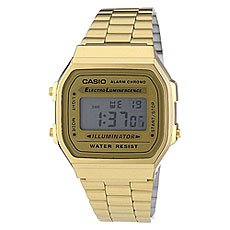 Часы Casio Collection A-168wg-9 Gold