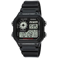 Часы Casio Collection Ae-1200wh-1a Black
