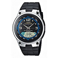 Часы Casio Collection Aw-82-1a Black/Grey