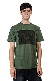 Футболка Quiksilver Palm Pop Bronze Green