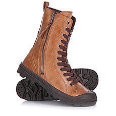 Ботинки женские Palladium Pampa Hi Rise L Zip Copper Kettle/Chocolate