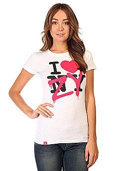 Футболка женская Zoo York 90433 White
