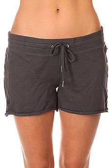 Шорты женские Zoo York Jrs Cozy Shorts Washed Black
