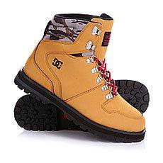 Ботинки зимние DC Peary Camel/Black