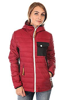 Пуховик женский Colour Wear Cub Jacket Burgundy