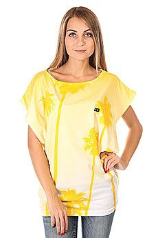 Топ женский K1X L.a. 80 S Top White/Yellow