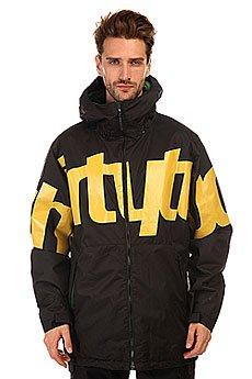 Куртка Thirty Two Lowdown Jacket Insulated Black/Yellow