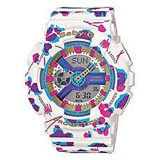 Часы женские Casio G-Shock Baby-g Ba-110fl-7a White/Purpule