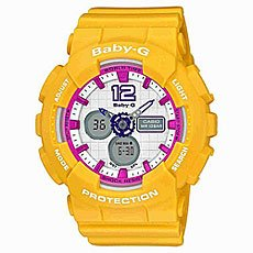 Часы женские Casio G-Shock Baby-G Ba-120-9B Yellow