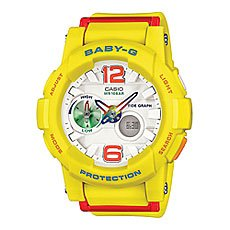 Часы женские Casio G-Shock Baby-G Bga-180-9B Yellow