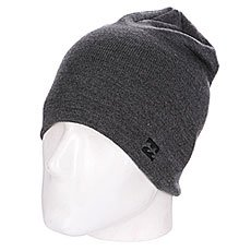 Шапка носок Billabong All Day Beanie Dark Grey Heather
