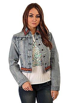 Куртка джинсовая женская Insight Bleach Blue Classic