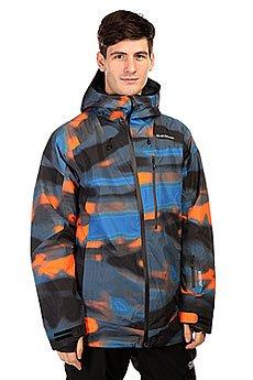 Куртка Quiksilver Inyo Print Jkt Alaskan Blur Orange