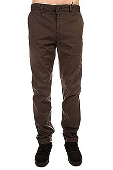 Штаны прямые Globe Goodstock Chino Vintage Black