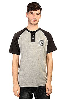 Футболка Bro Style Henley Raglan Black