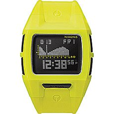 Часы Nixon Lodown S Neon Yellow