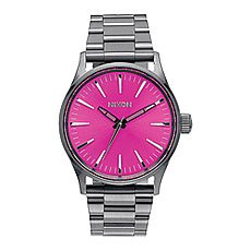 Часы Nixon Sentry 38 Ss Gunmetal/Pink Sunray