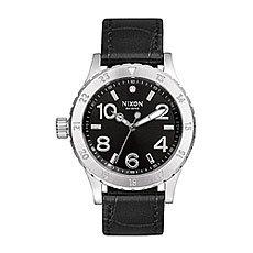 Часы женские Nixon Leather Black Gator