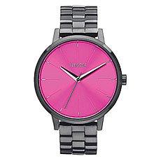 Часы женские Nixon Kensington Gunmetal/Pink Sunray