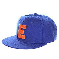 Бейсболка с прямым козырьком Truespin Abc Royal E