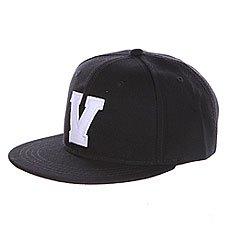 Бейсболка с прямым козырьком Truespin Abc Black V