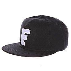 Бейсболка с прямым козырьком Truespin Abc Black F
