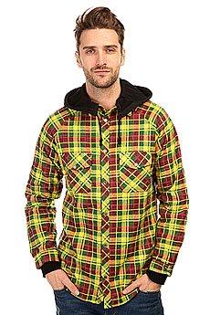 Рубашка в клетку Shweyka Fleece Shirt Rasta