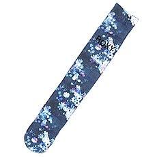 Носки сноубордические женские Roxy Snow Twist Sub Print Ensign Blue