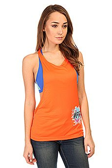 Майка женская CajuBrasil Dry Sport T-Shirt Orange