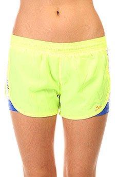 Шорты пляжные женские CajuBrasil Tafetб Shorts Yellow