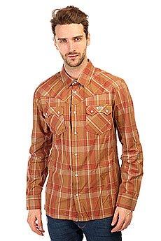 Рубашка в клетку Etnies Howdy Woven Khaki