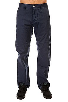 Штаны широкие Etnies Pay Day Chino Pant Navy