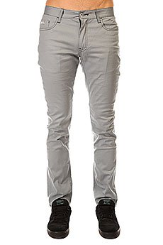 Штаны узкие Etnies Slim 5 Pant Light Grey